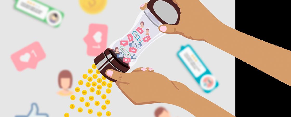 Las redes sociales viven de los datos personales