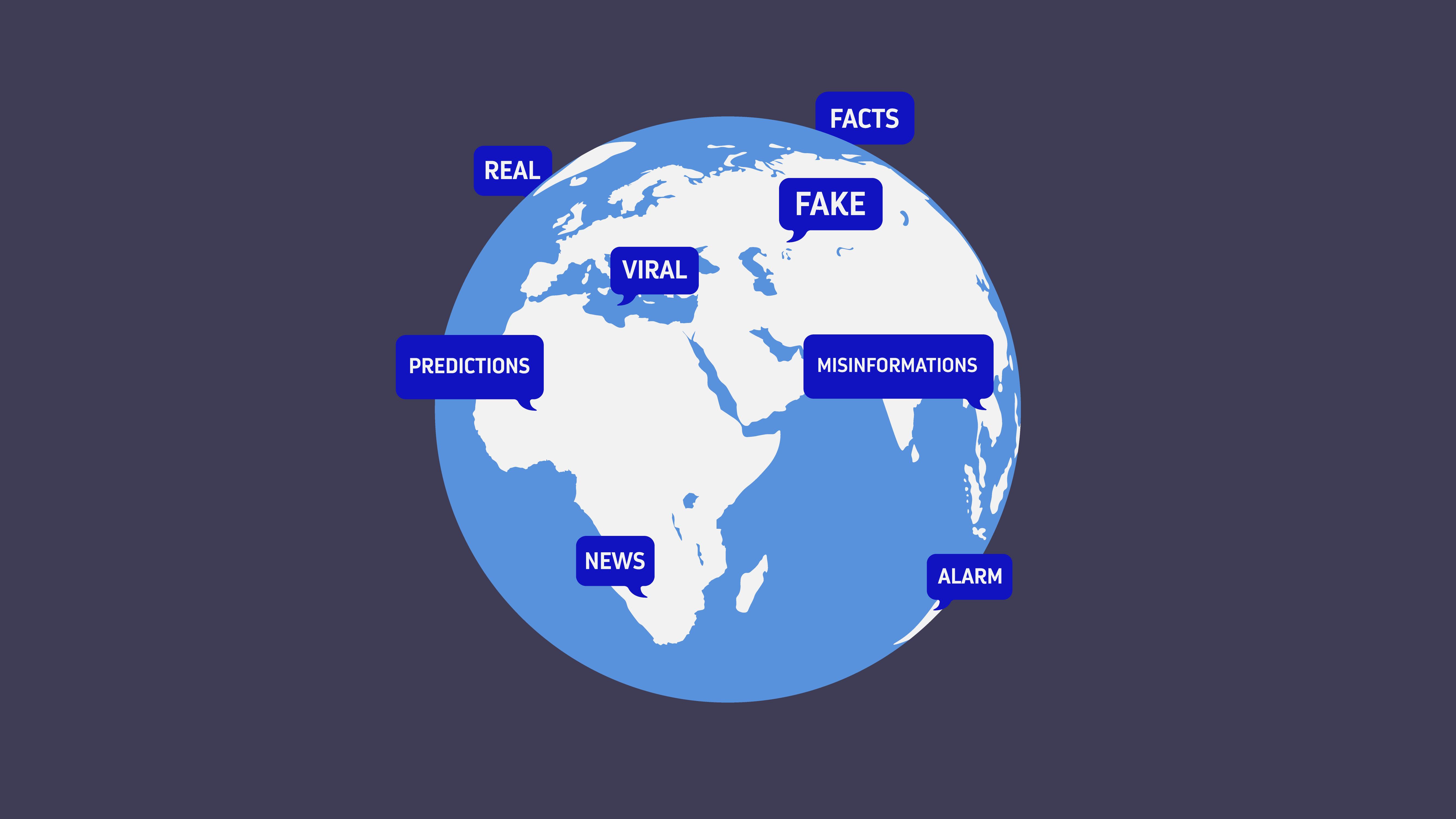 Las redes virales son espacio para fake news también
