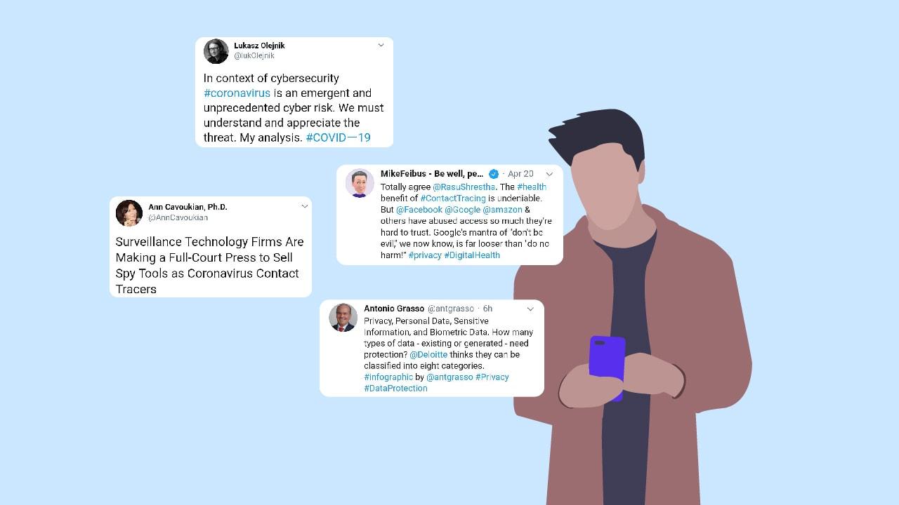 10 influencers sobre la privacidad de datos