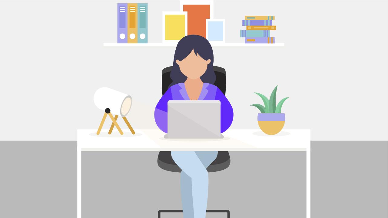 Trabajar desde casa es cada vez más común, aún más para los freelancers