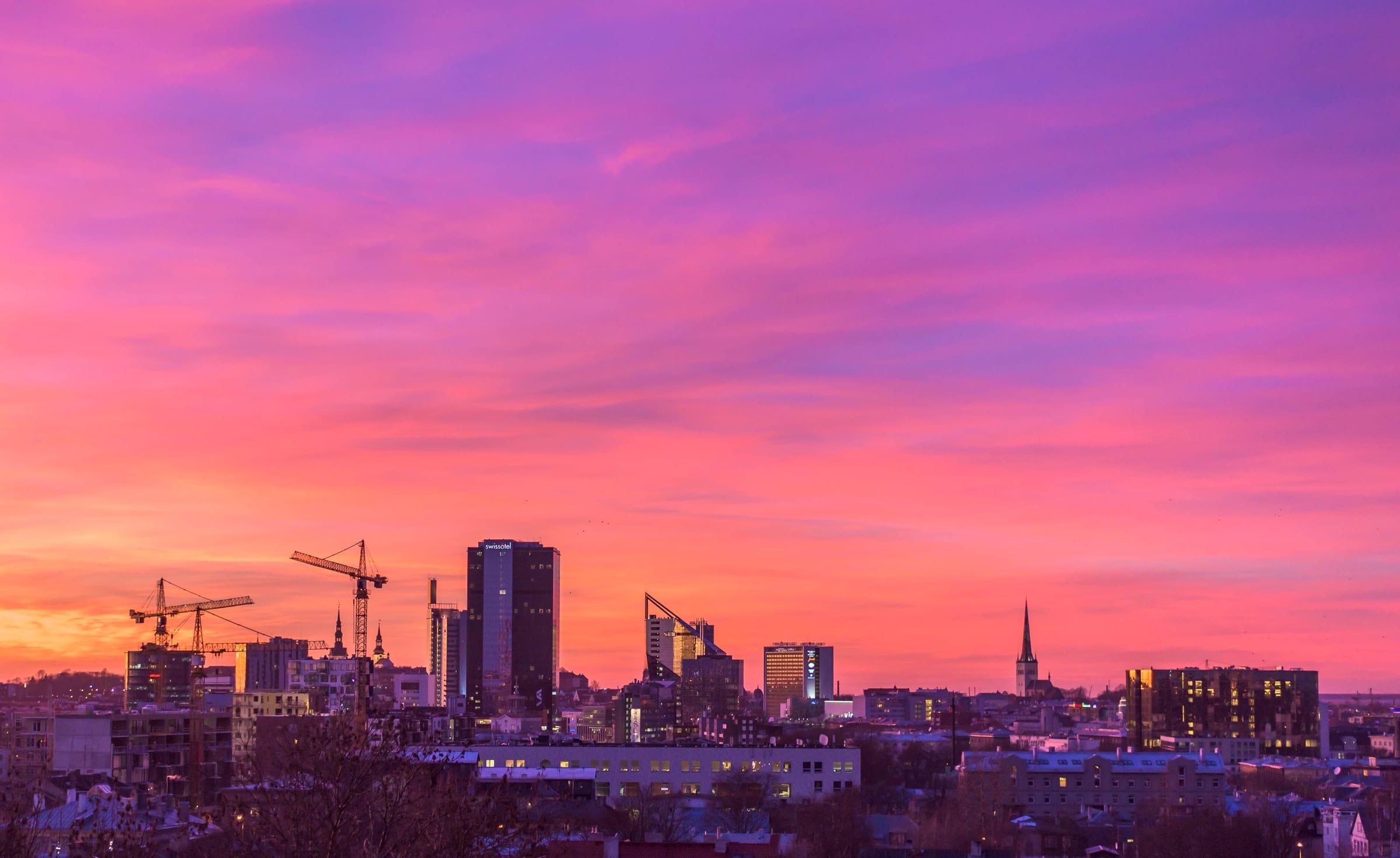 Tallinn es la capital de uno de los países más avanzados digitalmente