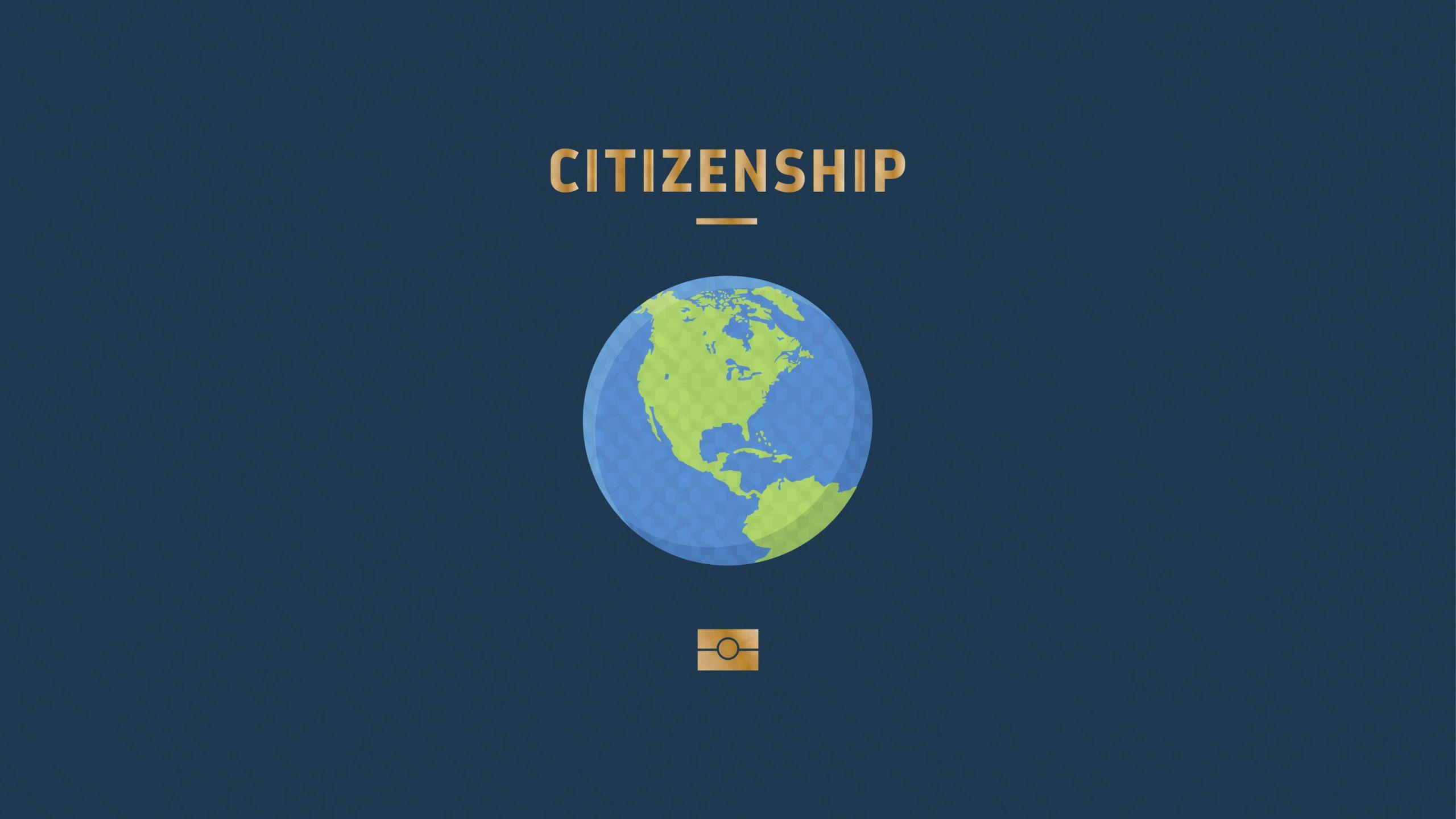 ¿Una ciudadanía mundial?