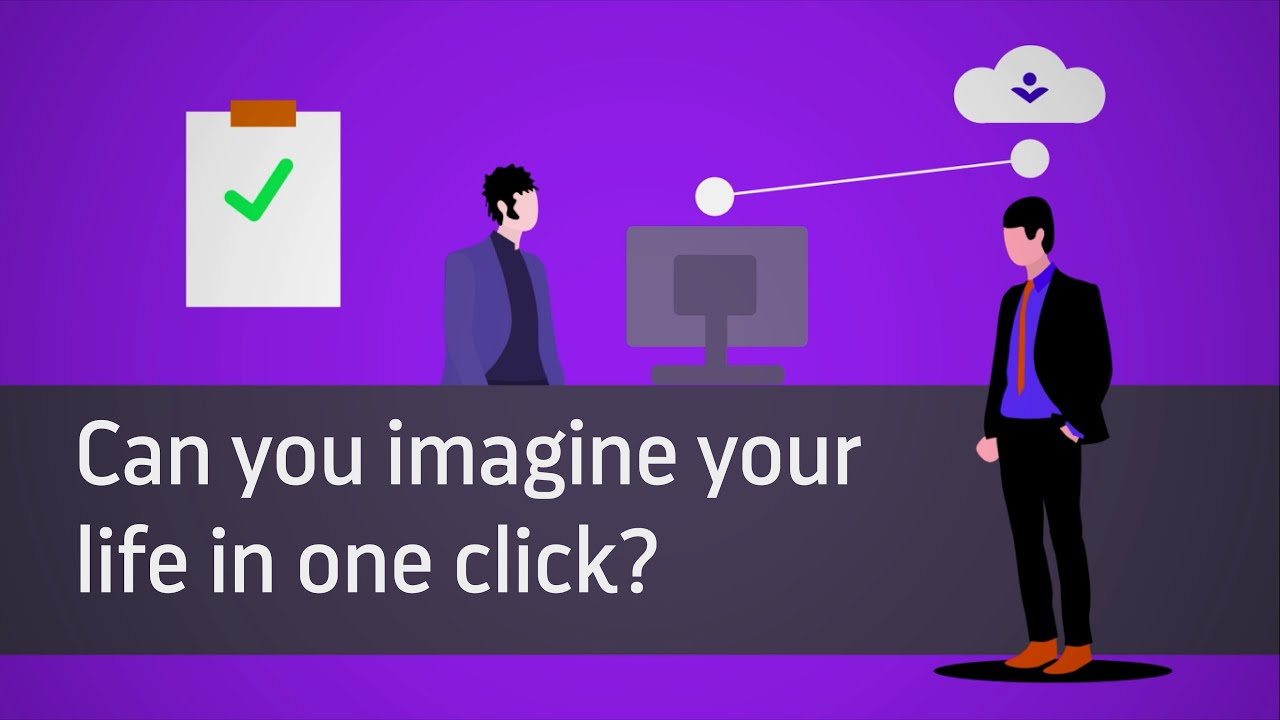 Can you imagine your life in one click? | Find your digital self | FySelf