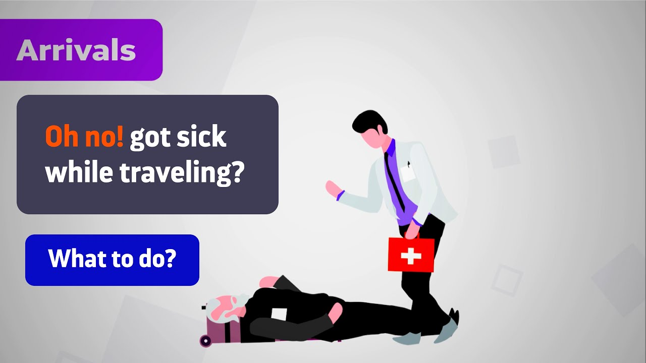 Got sick while traveling? What to do? | Find your digital self – FySelf