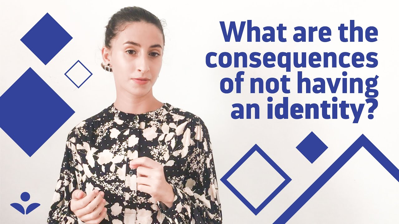 What are the consequences of not having an identity? | Find your digital self - FySelf