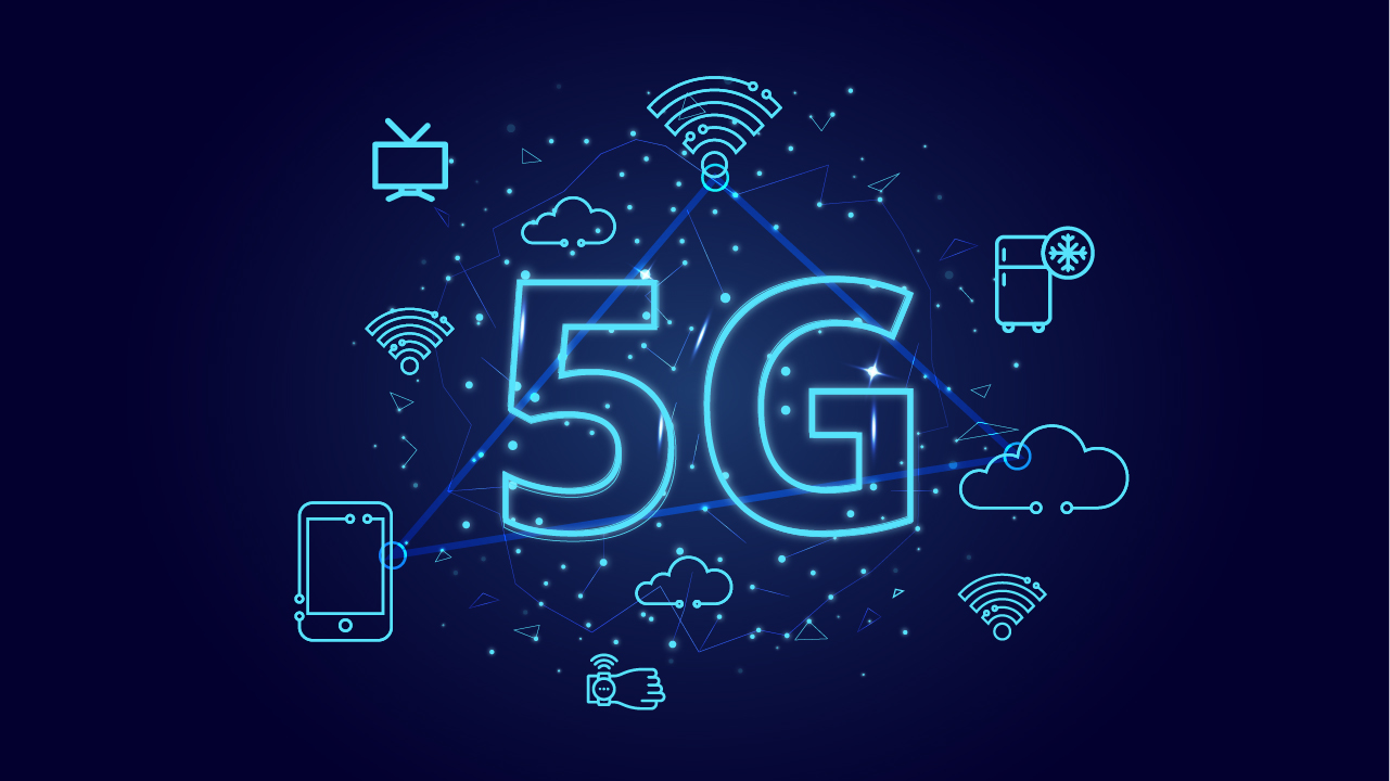 5G and the hyper connected world.