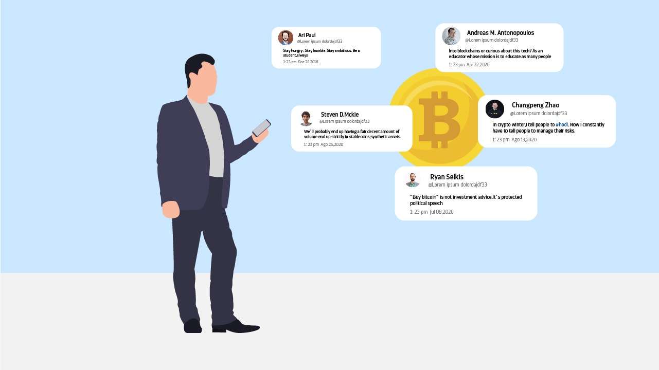 Blockchain is trending, so many people shares content about it in Social Media