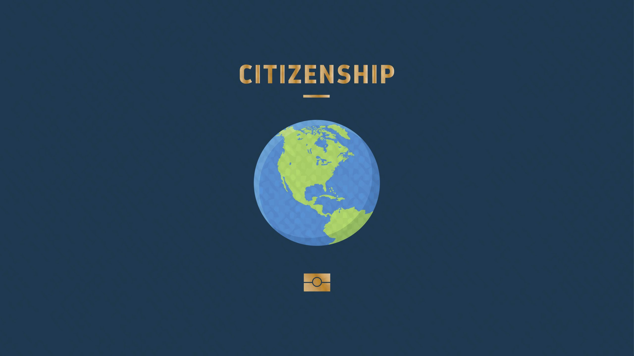 How can we achieve a world citizenship?