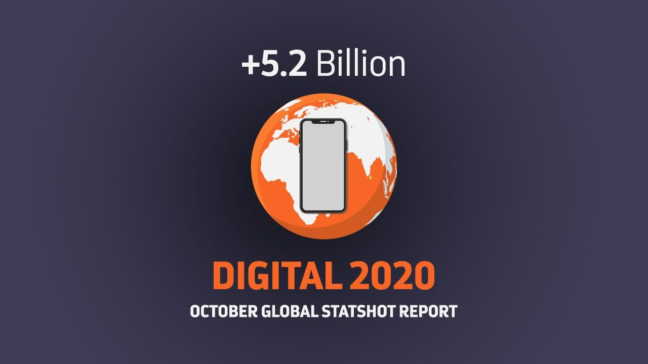 Digital Report 2020: a connected world in pandemic